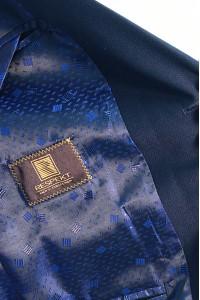 Тёмно-синий мужской костюм 740 (KURT-UV5BN550)