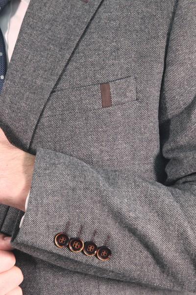 Пиджак мужской с налокотниками