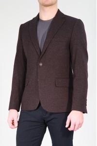 Бордовый мужской пиджак под джинсы 669 (ROCCIA-ITUV5BN2)