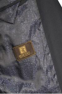 Чёрный мужской кэжуал пиджак 898 (BELAIR-1682)