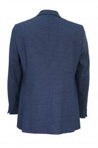 Синий мужской пиджак под джинсы 907 (LUKE-1682)