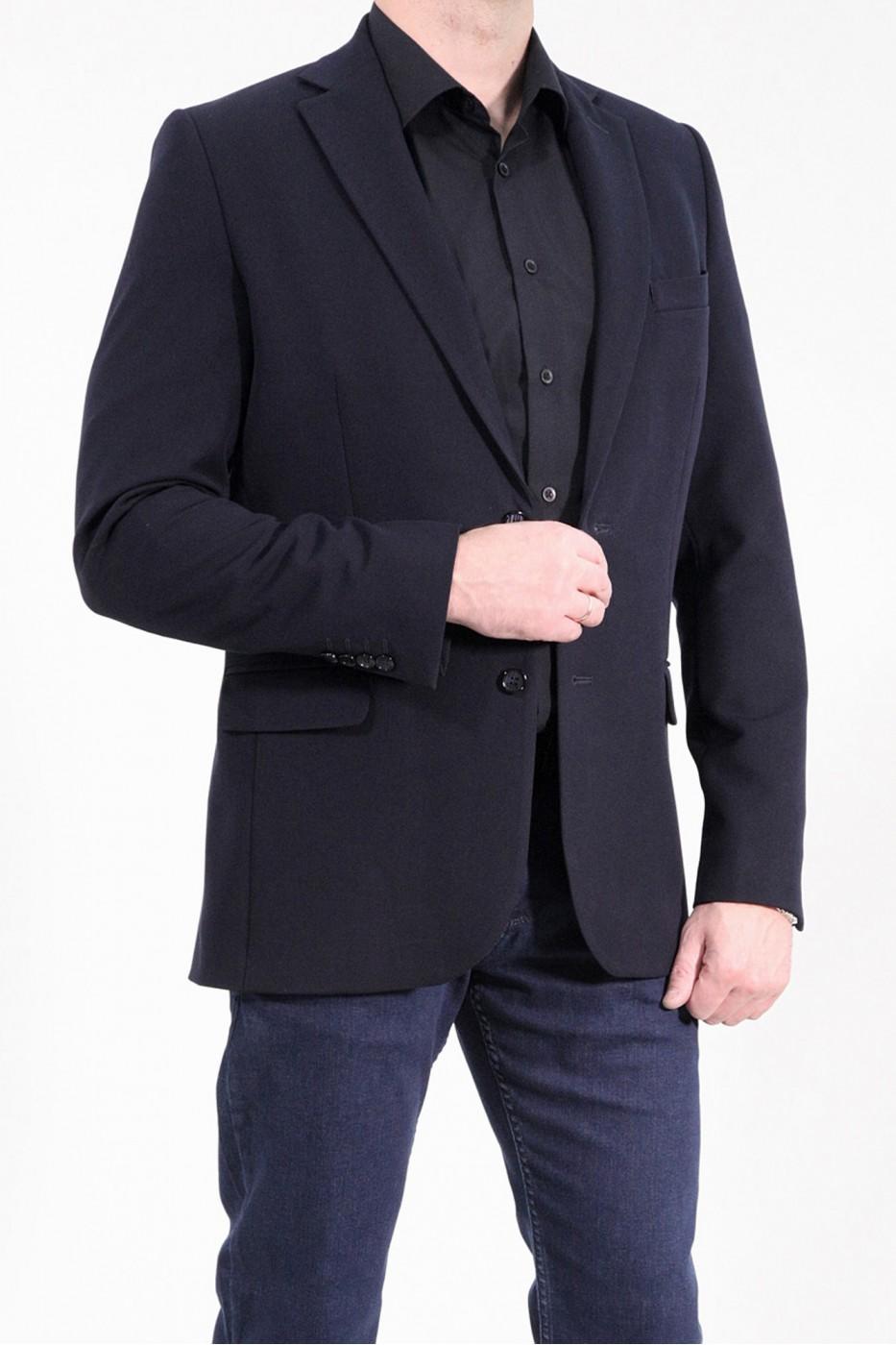 Чёрный мужской пиджак  912 (1923-1682)