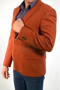 Терракотовый мужской пиджак VIDO Терракот