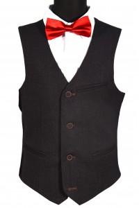 Тёмно-коричневый школьный пиджак детский - Д 2003П (RODNEY)