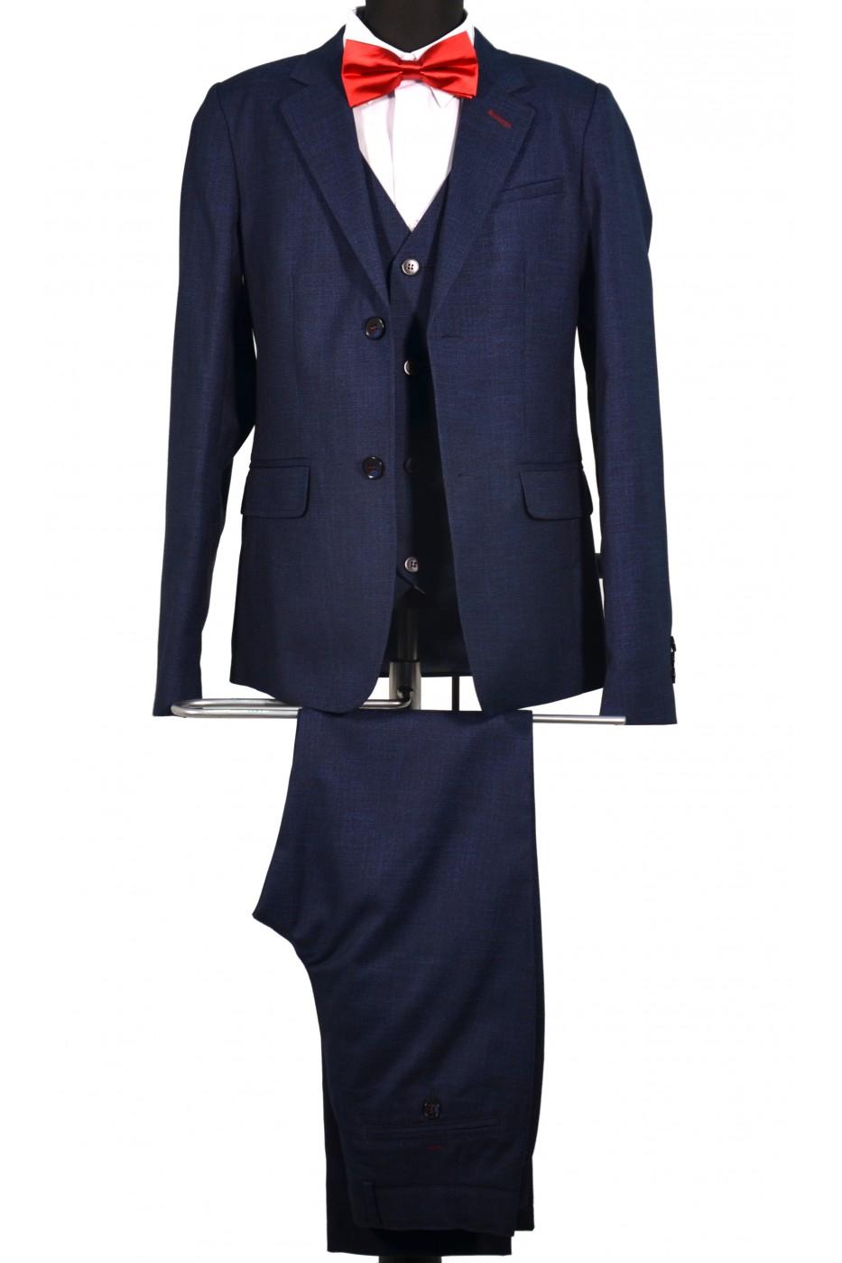 Тёмно-синий школьный пиджак детский -Д 2004П (MINOR)