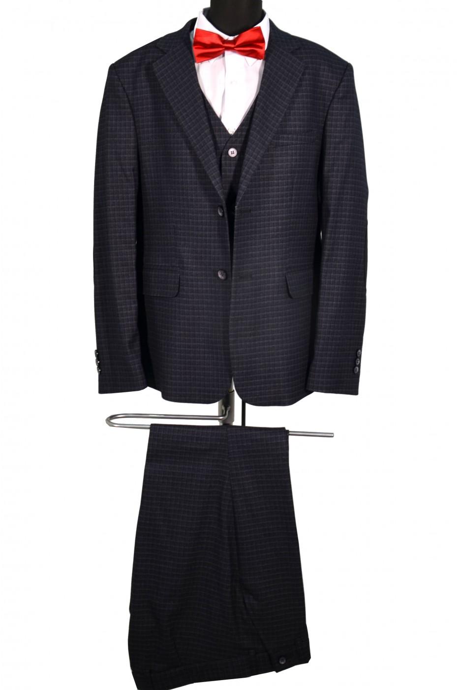 Тёмно-серый школьный пиджак детский - Д 2005П (BENNY GREY)