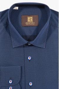 Сорочка мужская 201 (4557BLUE)