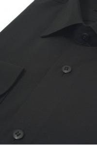 Чёрная мужская рубашка 310 (56)