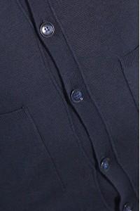 Тёмно-синий мужской однотонный жакет 2006