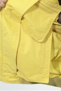 Жёлтая весенняя мужская ветровка 44101LW ЦВ.160