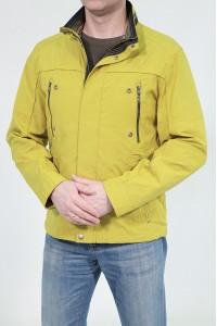 Жёлтая весенняя мужская ветровка 484961N00С ЦВ.160