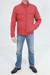 Красная весенняя мужская ветровка N485129LW ЦВ.165