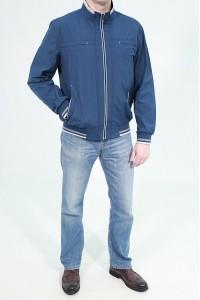 Синяя весенняя мужская ветровка 728841N01C ЦВ.20705