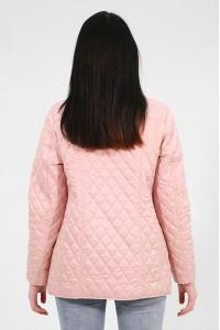 Розовая женская стеганная ветровка 611840N10C ЦВ.45