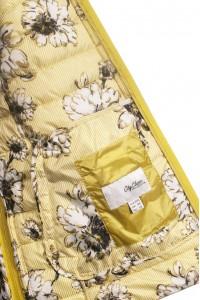Жёлтая женская демисезонная куртка 720720N11C-1 ЦВ.29