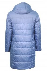 Голубая женская демисезонная куртка 838720N10N ЦВ.2