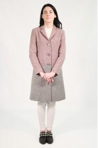 Пальто женское 535 (ADRIANA COMBI)