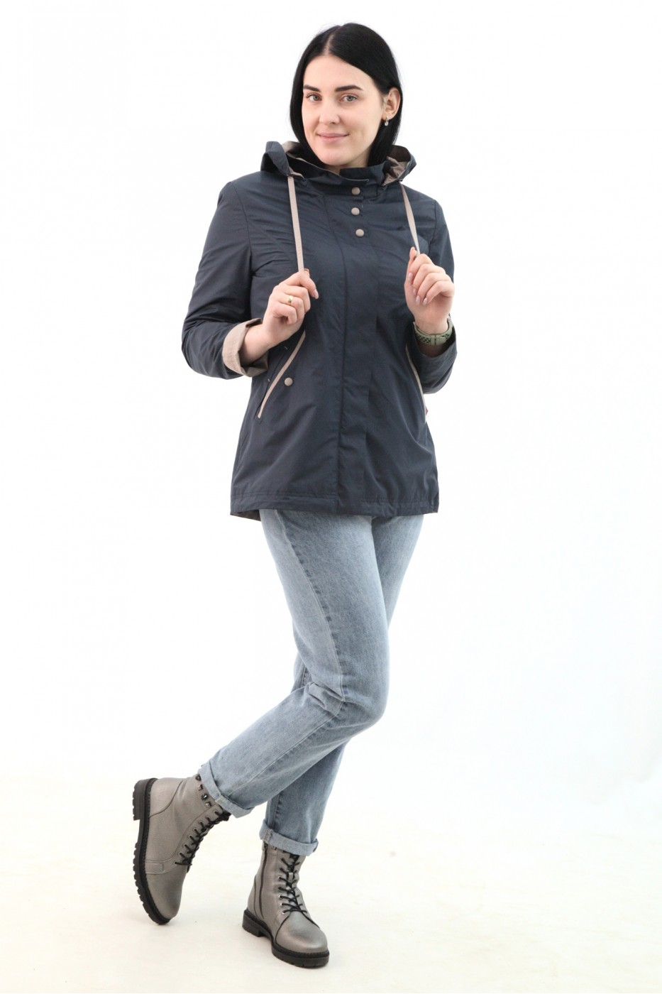 Куртка-ветровка жен 628840N01C ЦВ.98