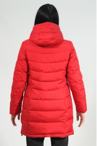 Красная женская зимняя куртка 033480N21C ЦВ.36