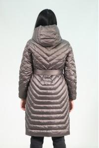 Коричневая женская зимняя куртка 229480N21C-1 ЦВ.07