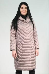 Бежевая женская зимняя куртка 229480N21C-1 ЦВ.223