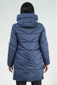 Синяя женская зимняя куртка 315270N21C ЦВ.206