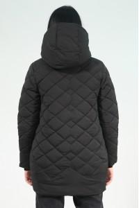 Чёрная женская зимняя куртка 406270N21C ЦВ.100