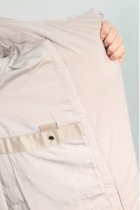 Бежевая женская зимняя куртка 406270N21C ЦВ.FS