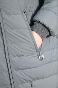 Серая женская зимняя куртка 620360N21C ЦВ.70