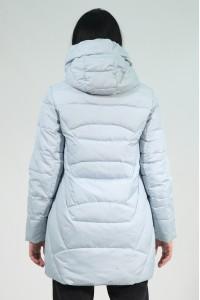 Голубая женская зимняя куртка 735360N21С ЦВ.71