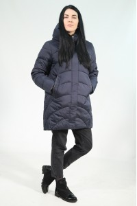 Тёмно-синяя женская зимняя куртка 735360N21С ЦВ.98