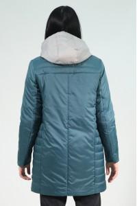 Бирюзовая женская демисезонная куртка 801720N10C ЦВ.102
