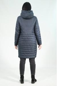 Тёмно-синяя женская демисезонная куртка 802720N10C ЦВ.137