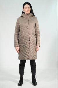 Коричневая женская демисезонная куртка 802720N10C ЦВ.65