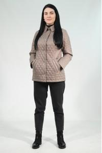 Коричневая женская демисезонная куртка 810720N10C-1 ЦВ.65